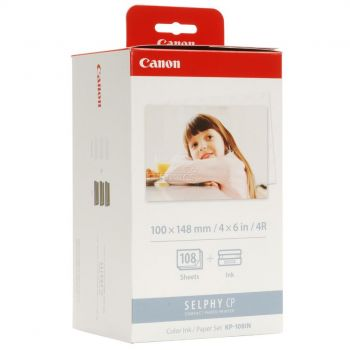 Canon Ink / paper set KP-108IN color