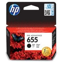 HP Inkjet Orignal CZ109AE / HP 655 black 550 pages