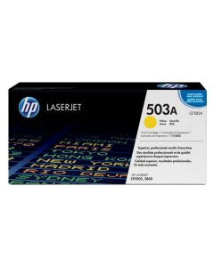 HP Toner Q7582A / HP 503A yellow 6 000 pages