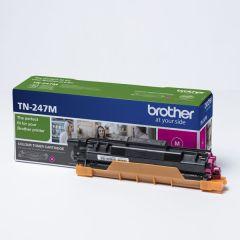 Brother originálny toner TN-247M magenta (purpurová) 2 300 strán