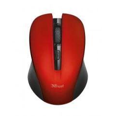 Bezdrôtová optická myš Trust Mydo červená