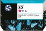 HP originálna náplň C4847A / HP 80 magenta (purpurová) 350ml