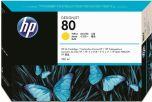 HP originálna náplň C4848A / HP 80 yellow (žltá) 350ml