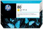 HP originálna náplň C4873A / HP 80 yellow (žltá) 175ml