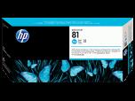 HP originálna tlačová hlava C4951A / HP 81 cyan (azúrová) 13 ml 1 000 strán