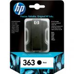 HP originálna náplň C8721EE / HP 363 black (čierna) 6 ml