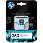 HP originálna náplň C8774EE / HP 363 light cyan (svetlá azúrová) 5,5 ml