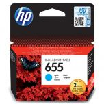 HP Original Inkjet CZ110AE / HP 655 cyan 600 pages