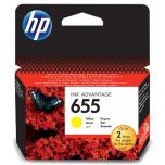 HP Original Inkjet CZ112AE / HP 655 yellow 600 pages