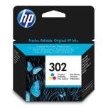 HP originálna náplň F6U65AE / HP 302 color (farebný) 3 x 165 strán