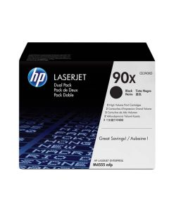 HP Toner CE390XD / HP 90X black dualpack 2 x 24 000 pages