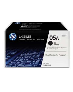 HP Toner CE505D / HP 05A black dualpack 2 x 2 300 pages