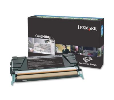 Lexmark Toner C746H1KG black 12 000 pages