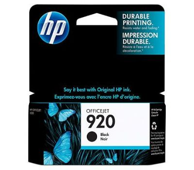 HP Inkjet CD971AE / HP 920 black 10ml
