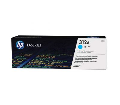 HP Toner CF381A / HP 312A cyan 2 700 pages