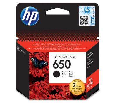HP Inkjet Original CZ101AE / HP 650 black 6,5ml 360 pages