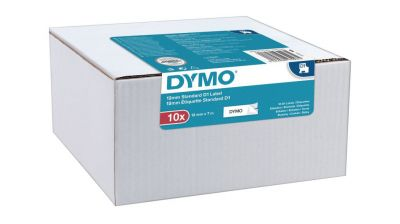 Originál DYMO páska 2093097 D1 12mm x 7m čierna na bielej 45013 pack 10ks
