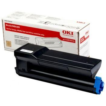 OKI originálny toner 43979216 black (čierna) 12 000 strán