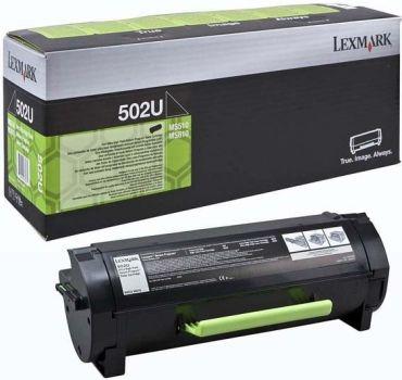 Lexmark Original Toner 50F2U0E / 502U black 20 000 pages