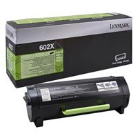 Lexmark Original Toner 60F2X00 / 602X black 20 000 pages