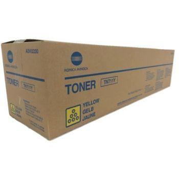 Konica Minolta originálny toner TN711Y A3VU250 yellow (žltá) 31 500 strán B-box