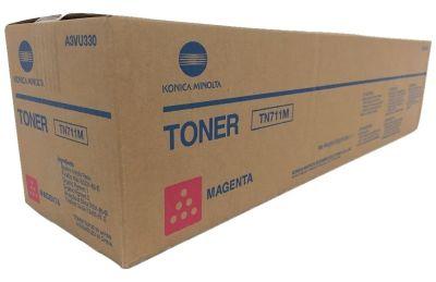 Konica Minolta originálny toner TN711M A3VU350 magenta (purpurová) 31 500 strán B-box