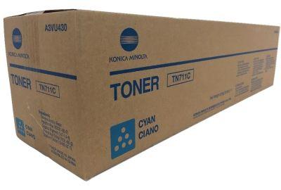 Konica Minolta originálny toner TN711C A3VU450 cyan (azúrová) 31 500 strán B-box