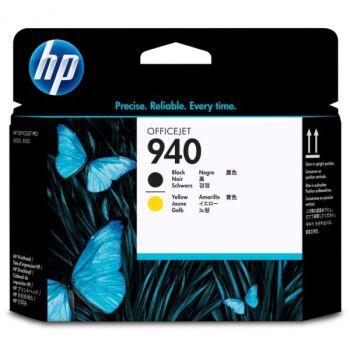HP originálna tlačová hlava C4900A / HP 940 black (čierna) / yellow (žltá)