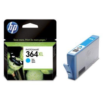HP originálna náplň CB323EE / HP 364XL cyan (azúrová) 6 ml 750 strán