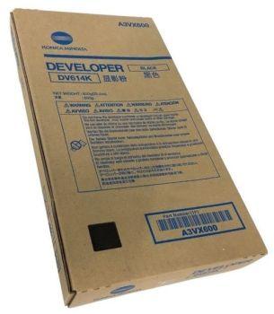 Konica Minolta Original Developer DV614K A3VX600 black 1 200 000 pages