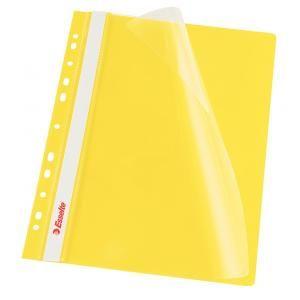 Rýchloviazač PVC s eurodierovaním Esselte VIVIDA žltý