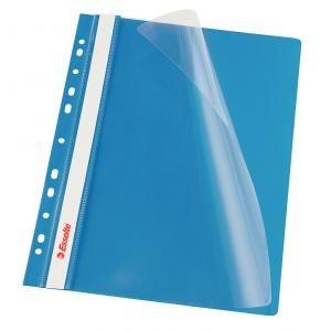 Rýchloviazač PVC s eurodierovaním Esselte VIVIDA modrý