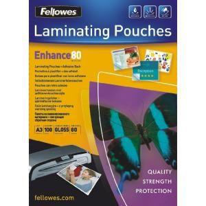 Laminovacie fólie Fellowes 303x426 A3 80mic
