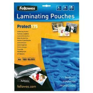 Laminovacie fólie Fellowes 216x303 A4 175mic