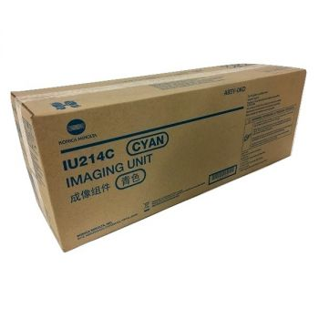 Konica Minolta originálna zobrazovacia jednotka IU214C A85Y0KD cyan (azúrová) 70 000 strán