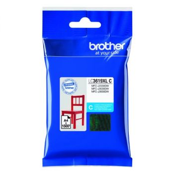Brother originálna náplň LC-3619XLC cyan (azúrová) 1 500 strán