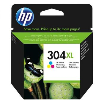 HP Original Inkjet N9K07AE / HP 304XL tricolor 7ml 300 pages