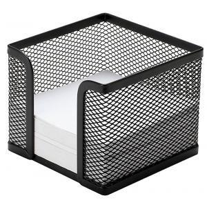 "Drôtený stojan na blok ""kocka"" 95x80x95mm čierny"