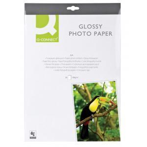 Fotopapier Q-Connect vysoký lesk 180g 20 hárkov