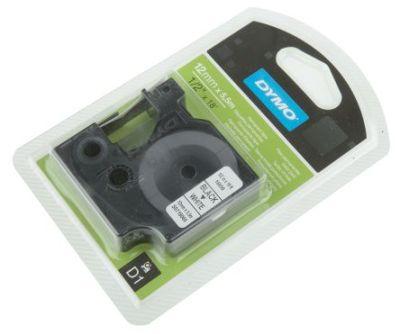 Originál DYMO páska S0718060 D1 5,5m x 12mm čierna na bielej 16959