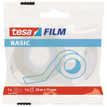 Lepiaca páska TESA basic 15 mm x 33 m s odvíjačom